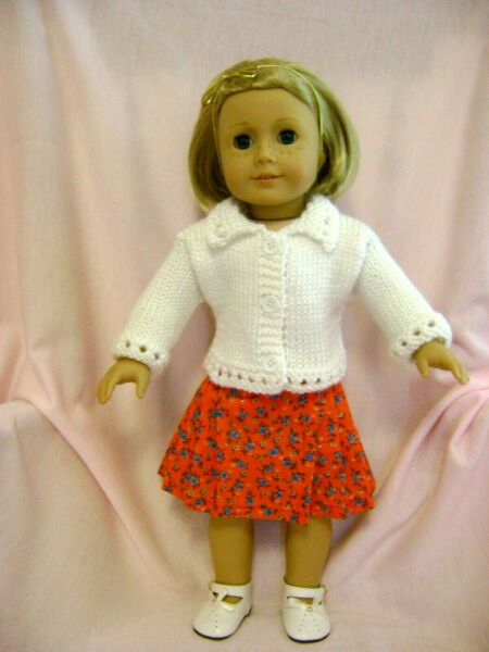 Doll clothes Skirt & Sweater Set Fits American Girl Doll