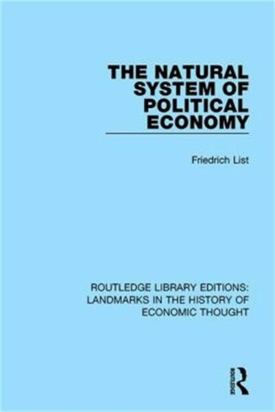 The Natural System of Political Economy Paperback or Softback $62.40
