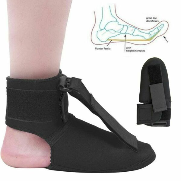Plantar Fasciitis Night Splint Foot Drop Brace For Heel Pain Relief Adjustable