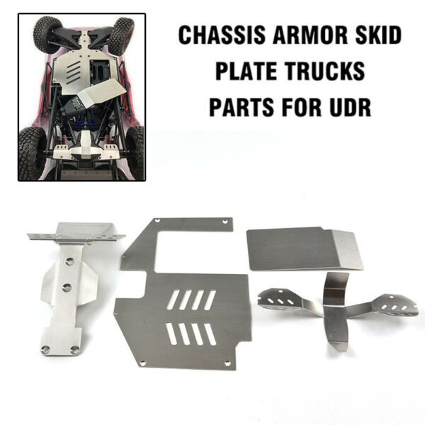 Chassis Armor Skid Plate Trucks Parts for UDR Unlimited Desert Racer 17 Traxxas