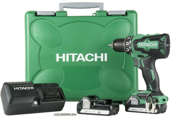 Hitachi DS18DBFL2 NEW 18V 18-Volt Cordless Lithium Ion Brushless Driver Drill
