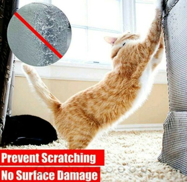 Anti Scratch Cat LARGE Training Tape Furniture Protector Protect Tape Sofa Guard $17.95
