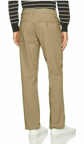 LEE Men's Performance Series Extreme Comfort Relaxed Pants NEW Khaki