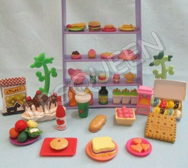 Littlest Pet Shop Lot 10 Random Sweets Food Cup Cake Accessories BUY3 1 FREE $5.95