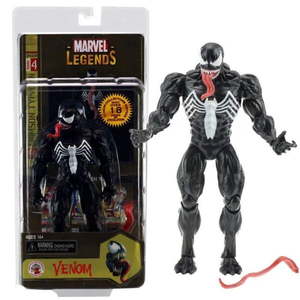 Marvel Legends Spider-Man Unique Venom Action Figure 7