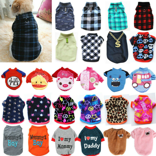 Pet Dog Clothes Puppy T Shirt Clothing For Small Dogs Chihuahua Vest Apparel $6.99