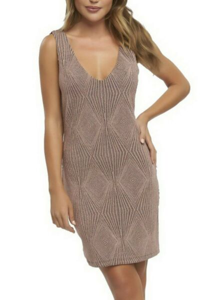 TART Women's Rebecca Dress Dusty Rose Gold Sz S  290897F