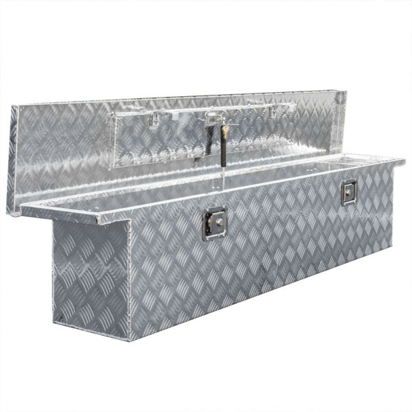 71quot; Aluminum Crossover Crossbed Truck Box Pickup Tool Box Trailer Storage Tool $259.95