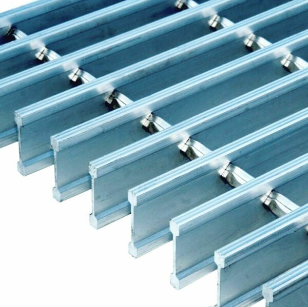 Aluminum Swage-Locked I-Bar Grating 19AI4 (1-34