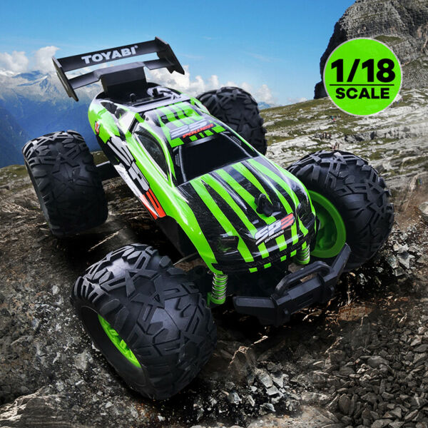 Monster Truck 4WD RC Speed Racing Buggy Car Off-Road Remote Control Electric Toy