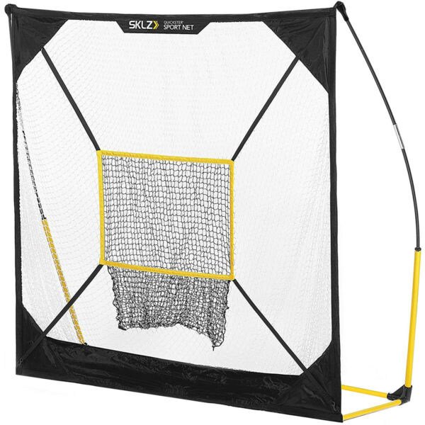 SKLZ Quickster Portable Quick Assembly Multi Sport Net 7#x27; x 7#x27; White Black