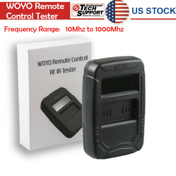 US Ship WOYO Remote Control Tester Car IR Infrared  Frequency Range 10-1000MHZ