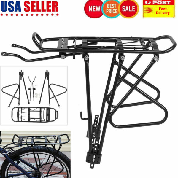 Back Rear Rack Mountain Bike Bicycle Seat Post Carrier Holder Luggage Rack $25.75