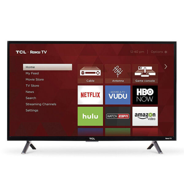 TCL 32-Inch Class 3-Series HD Roku LED Smart TV 720p 60Hz - 32S305