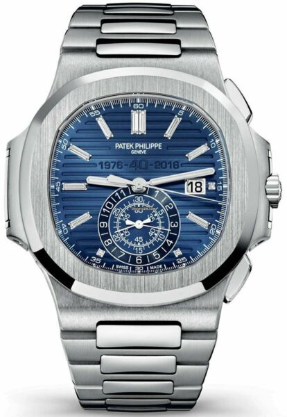 Patek Philippe SEALED Nautilus 18k White Gold Diamond Watch BoxPapers NEW 5976