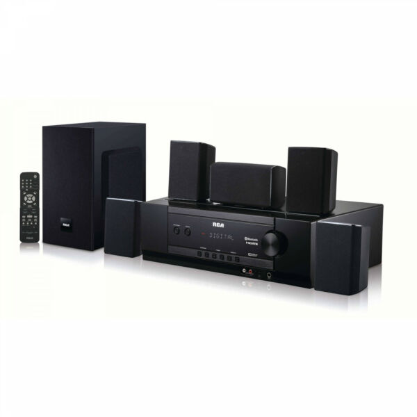 Bluetooth Home Theater System with Remote Control 5.1 Channel 1000 Watts