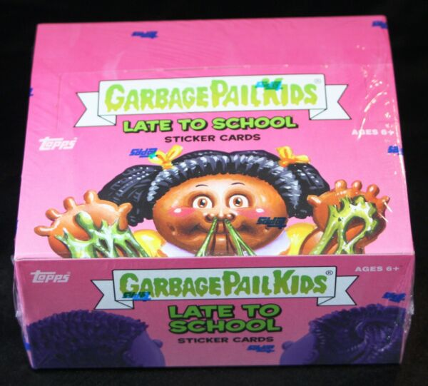2020 GARBAGE PAIL KIDS LATE TO SCHOOL 24PK HOBBY DISPLAY BOX GPK MASCOTS SKETCH