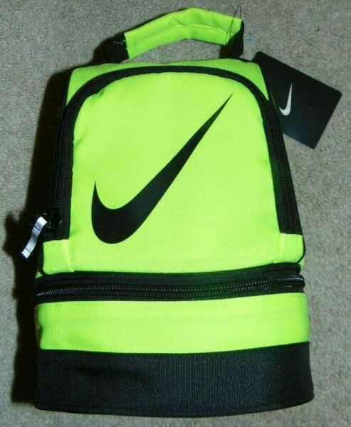 ~NWT Boys NIKE Neon Insulated Lunch BoxPail Nice FS:)~