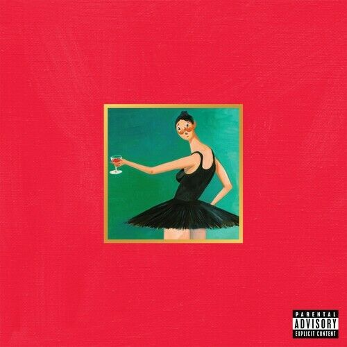 Kanye West My Beautiful Dark Twisted Fantasy New Vinyl LP Explicit