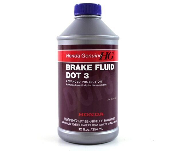 🔥 Genuine Brake Fluid 12 Ounce Bottle for Honda Accord CR-V 08798-9008 🔥