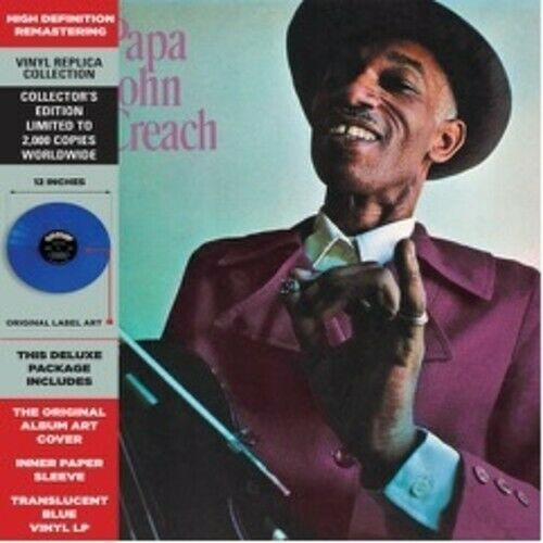 Papa John Creach Papa John Creach New Vinyl LP Colored Vinyl