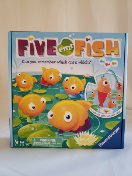 Five Little Fish Game 5 Fish With Different Color Tails $15.99