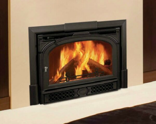 Montpelier Vermont Castings Wood Fireplace Insert Heating Chimney