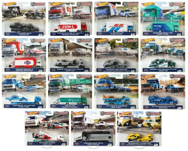 Hot Wheels Car Culture Team Transport Choose From 19 Transporters 1 16 2021 $18.95