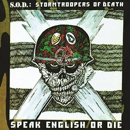 S.O.D. Speak English or Die 30th Anniversary Edition New Vinyl LP Annivers $22.93
