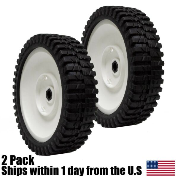 2PK Lawn Mower Front Drive Wheels for Craftsman 180773 180775 532180775 $27.99