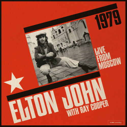 Elton John Live From Moscow New Vinyl LP 180 Gram