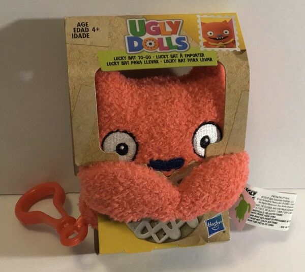 Hasbro Ugly Dolls Lucky Bat To-Go Stuffed Plush Toy 5 inch tall