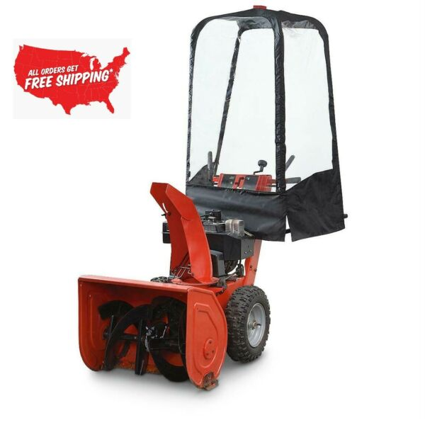 Snow Blower Cab Cleaner Freeze Resistant Single 2 Stage Garden Yard No Drill