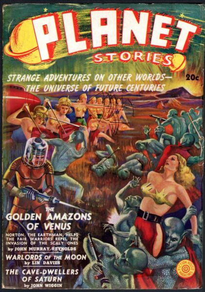 Planet Stories  A complete run of this highly popular sf pulp  title.