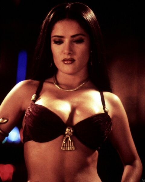 Salma Hayek Belly Dance 8x10 Picture Celebrity Print