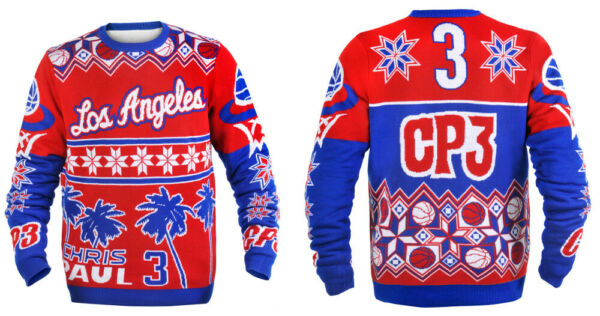 Chris Paul (Los Angeles Clippers) NBA Ugly Player Sweater