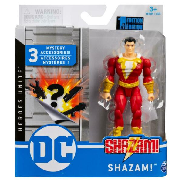 Spin Master DC Heroes Unite 4 Inch Action Figure SHAZAM 1st Edition New Sealed