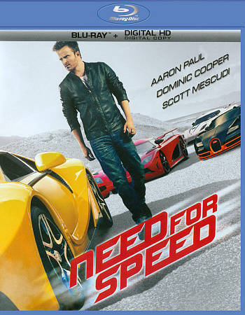 NEED FOR SPEED New Sealed Blu-ray