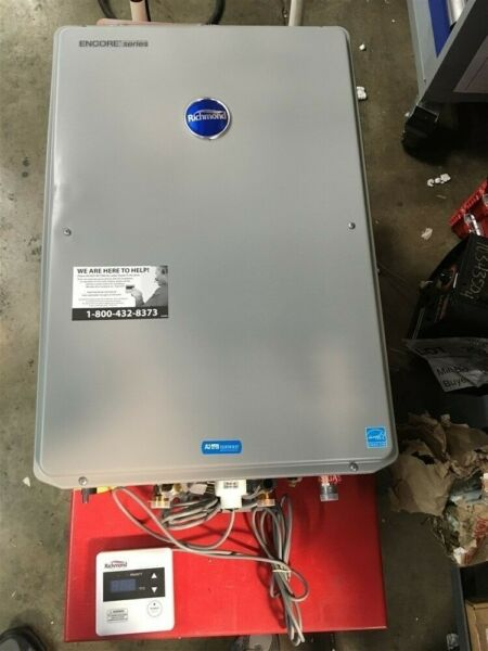 Richmond Indoor Propane LP RMTGH 95DVLP 2 Tankless Water Heater