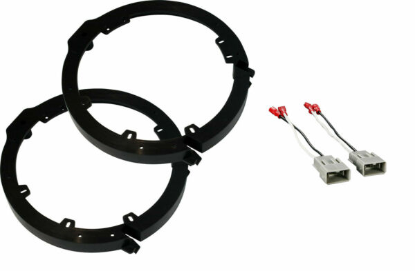 Front or Rear Car Door Speaker Wire Harness amp; Adapter Brackets for Honda Acura $13.49