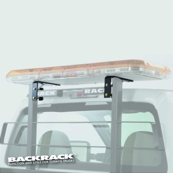 Backrack 91006 Headache Rack Light Mount Black