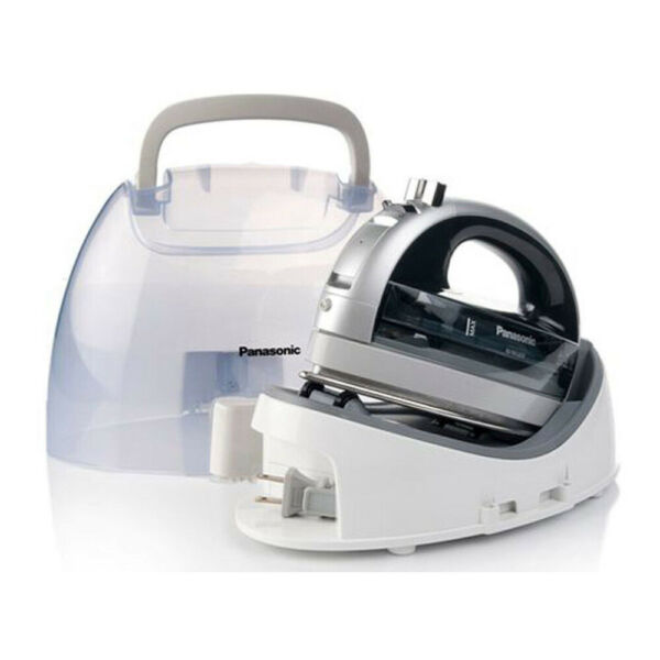 Panasonic Cordless 360-Degree SteamDry Iron with Stainless Steel Soleplate