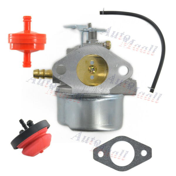 Carburetor Set For Tecumseh 640349 640052 8hp 8.5hp 9hp 10hp 10.5hp 11hp Engine