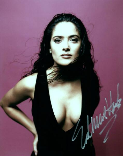 Salma Hayek signed 8x10 Photo Picture autographed and COA