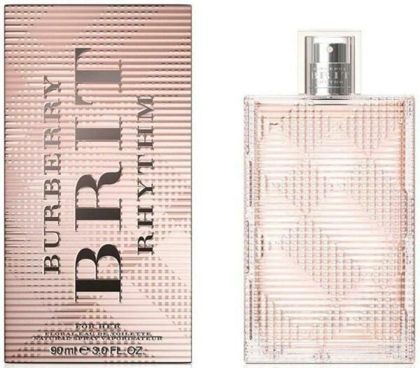 BURBERRY BRIT FLORAL by Burberry for her EDT 3.3 3.4 oz New in Box $29.88