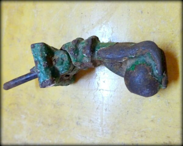 An Antique circa 1800 Cast Iron Door Knocker in the form of A Hand III GBP 125.00