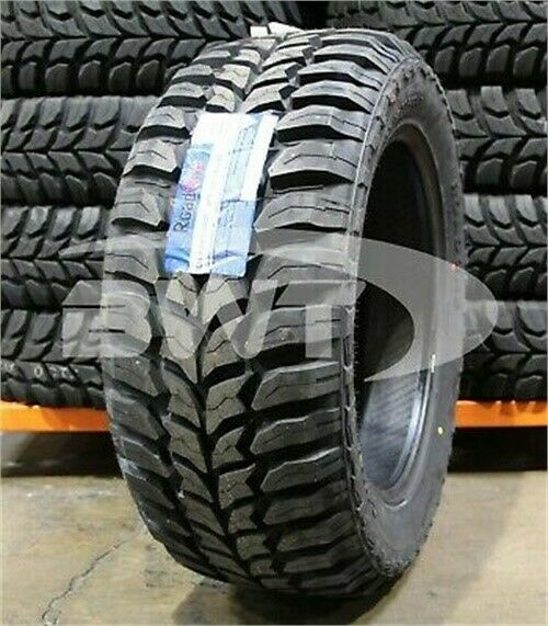 2 New 33X12.50 20 Roadone Cavalry M T MUD 119Q 12.50R R20 Tires