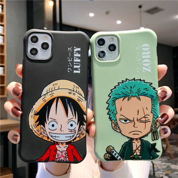 Cartoon One Piece Soft Phone Case Cover For iPhone11 Pro 6 7 8Plus XR XsMax Cute $10.78