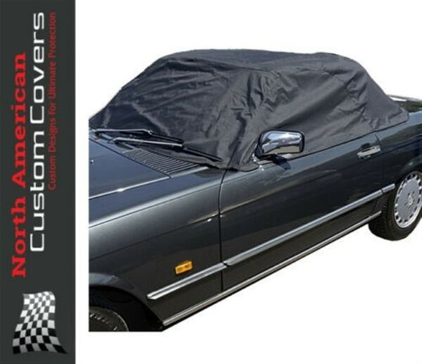 North American Custom Covers Mercedes R107 Soft Top Half Cover 1971 1989 133 $90.21