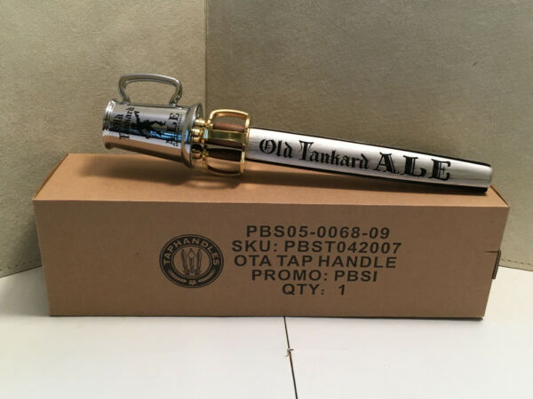 Old Tankard Ale 12quot; Beer Tap Handle New In Box Man Cave Bar By Pabst